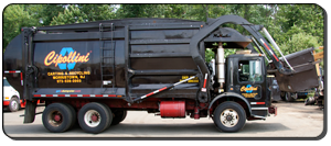 Front loader for commercial garbage collection